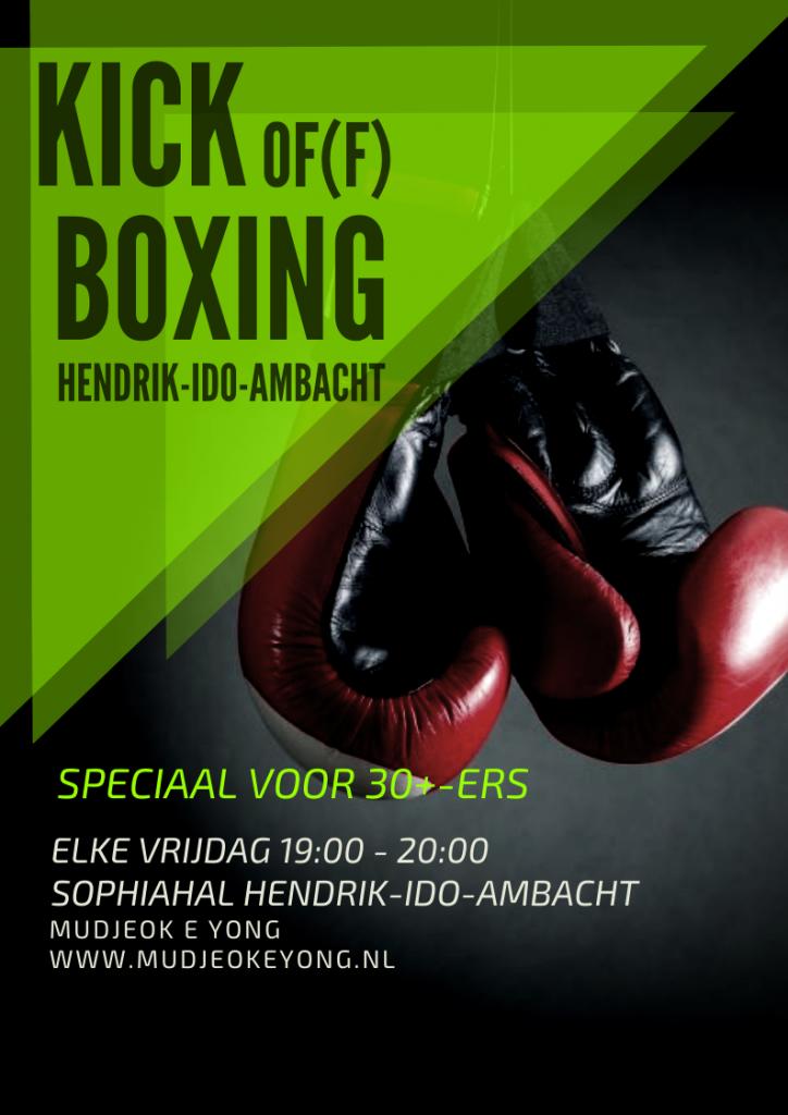 Kick of(f) Boxing Kickboksen in H.I.Ambacht